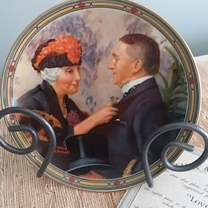LOVE'S REWARD Collector Plate